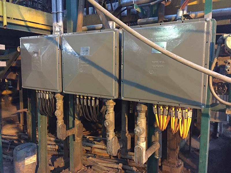 Ancap instrumentacion y control en Caldera 1301B