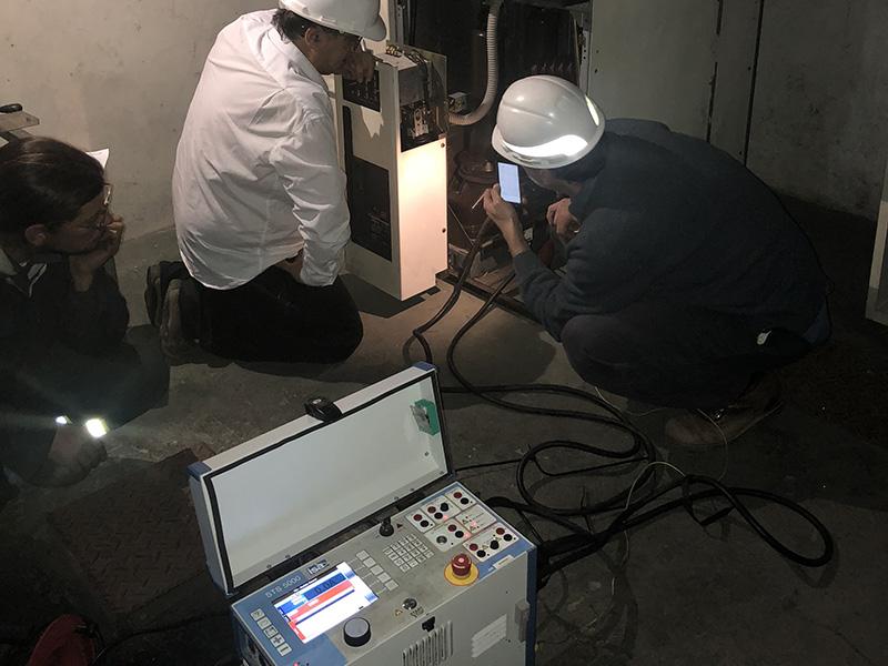 Reparación y calibración de celdas de media tensión